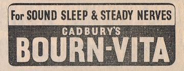 Cadbury Advert November 1939