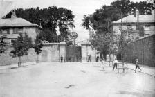 Mynedfa i Iard Longau Penfro - 1911