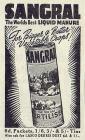 SANGRAL The Worlds Best LIQUID MANURE - 1941