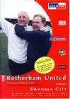 Football Programme - Rotherham United F.C....