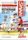 Rhaglen Pêl-droed, Rotherham United F.C. erbyn...