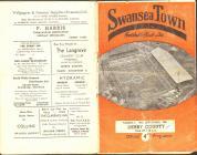 Football Programme - Swansea Town versus Derby...