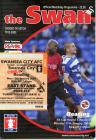 Football Programme and Ticket - Swansea City...