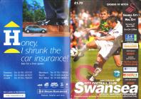 Football Programme - Swansea City versus Hull City
