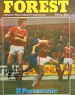 Football Programme  - Nottingham Forest versus...
