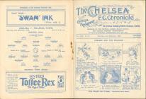 Football Programme  - Chelsea versus Swansea Town