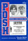 Football Programme  - Peterborough United...