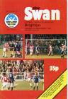 Football Programme  - Swansea City versus Brighton
