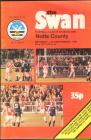 Football Programme  - Swansea City versus Notts...
