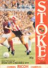 Football Programme  - Stoke City versus Swansea...