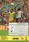 Football Programme and Ticket  - Tottenham...