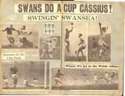 Lllyfr Lloffion Swansea City gan Derek Davies