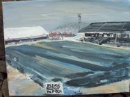 The Vetch Field, Painting