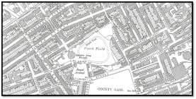 Swansea Town Football Club, Old Map Showing The...