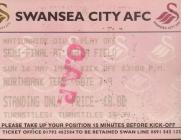 Tocyn Swansea City erbyn Scunthorpe United, 1999