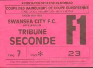 Ticket for A.S. Monaco versus Swansea City