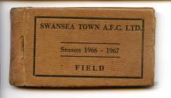 Tocyn y Tymor Swansea Town 1966-67