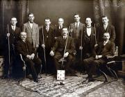 Tîm Biliard fuddugol - 1892