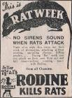 This is RAT WEEK - 1939