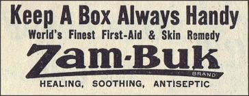 Zam-Buk - 1940