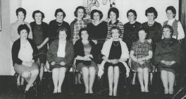 Night class at Ysgol Cofadail, Trefenter, 1970&...