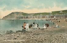 Aberystwyth beach c1910