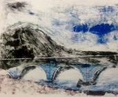 Dyfi Bridge, Machynlleth, by Sarah Higgins