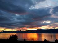 A Beautiful Sunrise Over Snowdonia