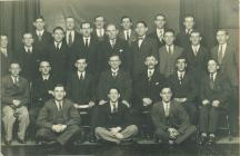 Carmarthen Mutual Dairy male voice choir, c1932