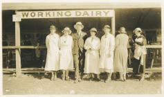 Royal Welsh Show Llandrindod in 1932 - ladies...