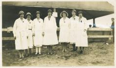 Royal Welsh Show Llandrindod in 1932 - ladies...