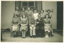 United Dairies office staff, Carmarthen, 1950