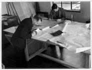 Workers designing Brynmawr furniture in the 1930s.