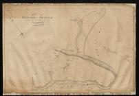 Tithe map of Oxwich, Glamorgan