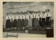Recitation party under 15 years old in the 1960...