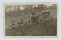 Tractor from Gorgoch garage