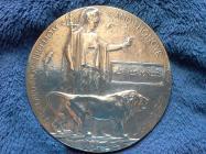WW1 Death Placque for James Jones.