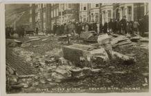Storm damage Victoria Terrace October  1927
