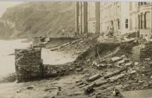 Difrod storm, Teras Victoria, Aberystwyth 1938