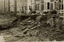 Storm damage Aberystwyth 1938