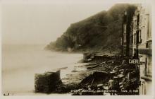 Storm damage Aberystwyth 15th January 1938
