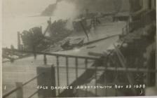 Gale damage Aberystwyth November 23 1938