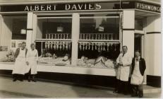Albert Davies Fishmonger Aberystwyth
