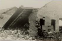 Cottage after the storm 15th January 1938