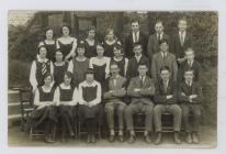 Form V Ardwyn Grammar School, Aberystwyth...