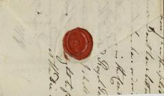 Seal of Baron Kensington W. Edwardes M.P.
