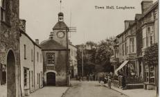 Town Hall and Market Street, Laugharne