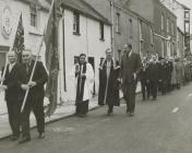 Portreeve's Sunday, Laugharne 1963