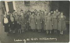 Ladies of WVS Llandovery 1943