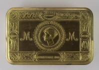 Tin belonging to Thomas Leah - a gift from...